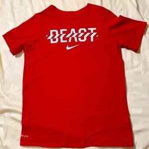 Nike Dri-fit Beast T-shirt Boys XL